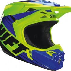 MXE Casca Motocross Shift MX Whit3 Termac verde/albastru Cod Produs: 16109586MAU
