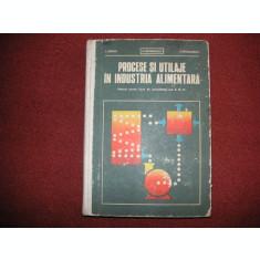 Procese Si Utilaje In Industria Alimentara - L. Iliescu, N. Georgescu