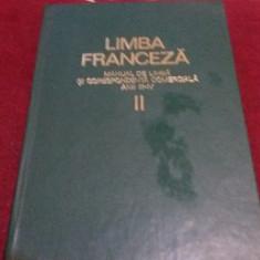 LIMBA FRANCEZA - MANUAL DE LIMBA SI CORESPONDENTA COMERCIALA ANII III-IV - Carte in franceza