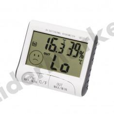 Statie meteo termometru interior - exterior