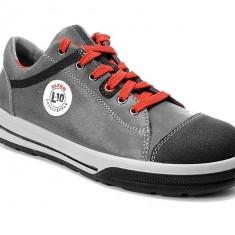 Pantofi protectie Elten Vintage Pirate Low S3, piele, bombeu din otel, talpa zimtata