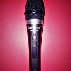 Microfon cu fir Dinamic / microfon karaoke, mufa jack 6.3mm, lungime 3m