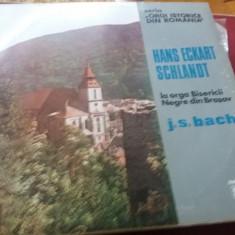 DISC VINIL  HANS ECKART SCHLANDT LA ORGA BISERICII NEGRE DIN BRASOV