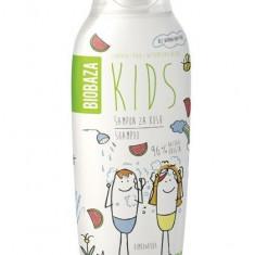 Sampon natural pentru copii cu aroma de pepene, 250 ml - Biobaza - Cosmetice copii