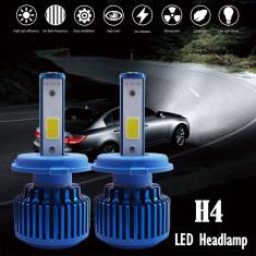 Set Becuri Led Auto h4 50W 8000 lm 12/24v Turbo Light