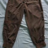 Pantaloni vara - Blugi dama, Marime: 42, Culoare: Khaki