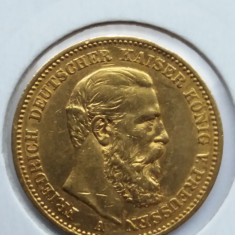 Gernania - 20 mark 1888 - moneda aur, Europa