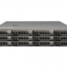 Server Dell PowerEdge R510, Rackabil 2U, 2 Procesoare Intel Quad Core Xeon E5620 2.4 GHz, 12 GB DDR3 ECC Reg, 12 x 300 GB SAS + 2