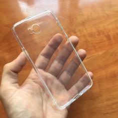 Husa noua Huawei Y5 2 Silicon TRANSPARENTA protectie folie sticla - Husa Telefon