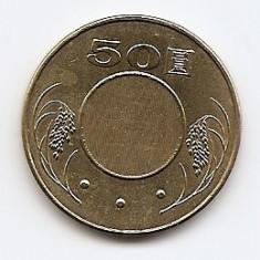 Taiwan 50 Yuan 2005 - Alama, CM1 , 28 mm KM-568