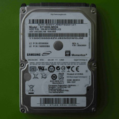 HDD laptop Toshiba 1TB Samsung ST1000M024 6.0Gb/s SATA - DEFECT, 500-999 GB, Rotatii: 5400, SATA 3, 8 MB
