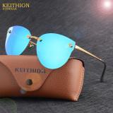 Ochelari Soare Dama Fashion - CAT EYE / OCHI DE PISICA - UV400-Model - Albastru, Femei, Protectie UV 100%