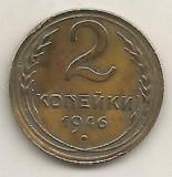 RUSIA URSS  2  COPEICI  KOPEICI  KOPEIKI  1946  [1]    livrare in cartonas, Europa, Alama