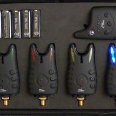 Statie - Wireless cu 4 Avertizoare FL - Avertizor pescuit, Electronice