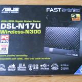 Router wireless N300 ASUS DSL-N17U ADSL/VDSL Gigabit.