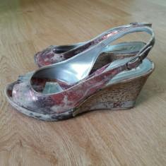 Sandale din piele naturala, marime 38 pana la 38 2/3