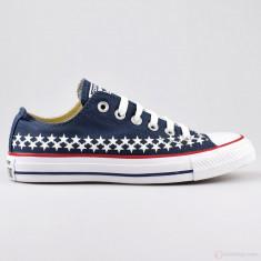 Tenisi Converse All Star Ox Americana 151016C nr. 44 - Tenisi barbati Converse, Culoare: Albastru, Textil