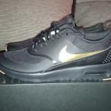 "Unicat ! NIKE ID : ORIGINALI 100% Nike Air Max THEA "" Black gold"" nr 36.5 - Adidasi dama Nike, Culoare: Din imagine"