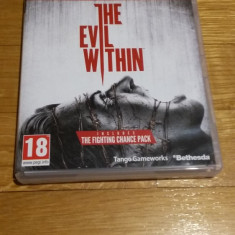 PS3 The evil within - joc original by WADDER - Jocuri PS3 Bethesda Softworks, Actiune, 18+, Single player