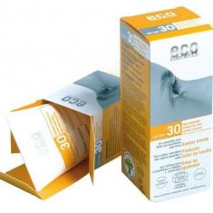 Crema bio protectie solara FPS 30, 75 ml - Eco Cosmetics