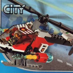 LEGO 7238 Fire Helicopter - LEGO City