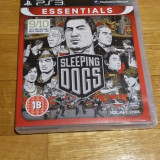 PS3 Sleeping dogs Essentials - joc original by WADDER