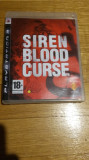 PS3 Siren Blood curse - joc original by WADDER, Actiune, 18+, Single player, Sony