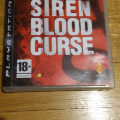 PS3 Siren Blood curse - joc original by WADDER - Jocuri PS3 Sony, Actiune, 18+, Single player