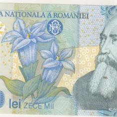 Bnk bn romania 10000 lei 1999 (2000 ) unc - Bancnota romaneasca