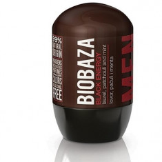 Deodorant natural pentru barbati Black Energy (dafin si patchouli) - Biobaza - Antiperspirant barbati