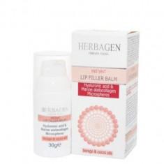 Filler-balsam buze cu microsfere de acid hialuronic si atelocolagen 30gr Herbagen