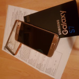 Samsung Galaxy S7 G930F 32Gb Gold Neverlocked Garantie 20 luni - ca nou - Telefon Samsung, Auriu, Neblocat, Single SIM