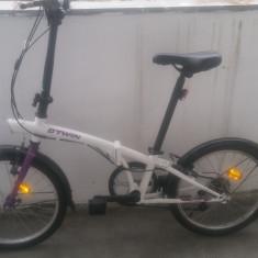 Bicicleta pliabila Decathlon Hoptown 320, Numar viteze: 6