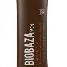 Gel de dus 2 in 1 pentru barbati BLACK ENERGY, 220 ml - Biobaza