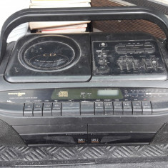 CD RADIO CASETOFON STEREO PROFEX  RR 971 CD , DEFECT .