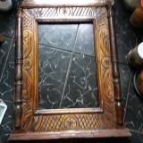 Rama de lemn veche, de oglinda