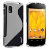 Husa LG Nexus 4 E960 + stylus, Transparent, Gel TPU