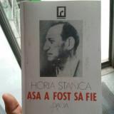 HORIA STANCA AȘA A FOST SĂ FIE 1994 DEȚINUT POLITIC VETERAN DE RĂZBOI ANTICOMUNI