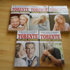MARIE-ANNE DESMAREST--TORENTE - 5 VOLUME--COMPLETA - Roman