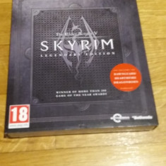 PS3 Skyrim The elder scrolls 5 Legendary edition - joc original by WADDER - Jocuri PS3 Bethesda Softworks, Role playing, 18+, Single player