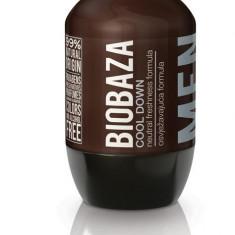Deodorant natural pentru barbati Cool Down (menta) - Biobaza - Antiperspirant barbati