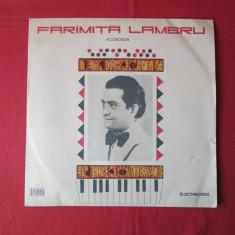 Vinil Faramita Lambru Acordeon, disc vinil vechi lautareasca populara romaneasca - Muzica Lautareasca electrecord