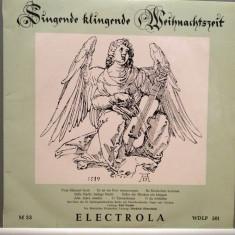 HANDEL/MOZART/GIORDANI - CHRISTMAS SOUND (1959/ELECTROLA/RFG) - VINIL/RAR - Muzica Clasica emi records