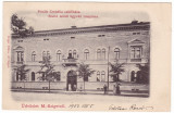 #2009- Romania, Maramures, M.Sziget  c.p. circ. 1902: Casa nastere Prielle C., Circulata, Fotografie, Sighetu Marmatiei