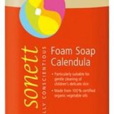 Sapun lichid ecologic spumant cu galbenele pentru copii 1 l Sonett