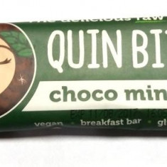Baton cu ciocolata si menta RAW BIO 30 g - Supliment nutritiv