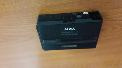 AIWA STEREO CASSETTE PLAYER  HS-PC202MII ,DOLBY B-C NR AUTO REVERSE foto