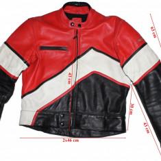 Costum moto Below, piele, barbati marimea 52(L) - Imbracaminte moto