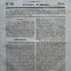 Gazeta de Transilvania, Brasov, nr. 20, 9 Martie, 1844 - Ziar
