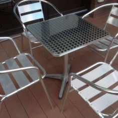 Masa si scaune terasa - Mobila pentru terasa